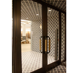 Custom steel & glass doors by IMS